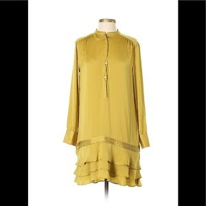 Beautiful Gold Banana Republic Shift Dress